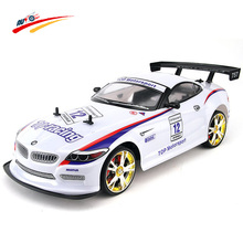 RC Car 1:10 High Speed Racing Car 2.4G Z4/M6 Roadster 4 Wheel Drive Radio Control Sport Drift Racing Car Model toy(China)