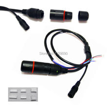 10PCS DC+RJ45 CCTV IP Camera Module Video Power Cable With Terminals for another End in Connection to Camera Module