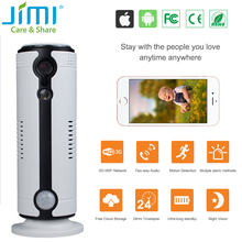 Jimi JH09 3G Hot Selling HD Indoor Wireless 720P Security Camera Surveillance WiFi CCTV Camera Night Vision Support 64G SD Card(China)