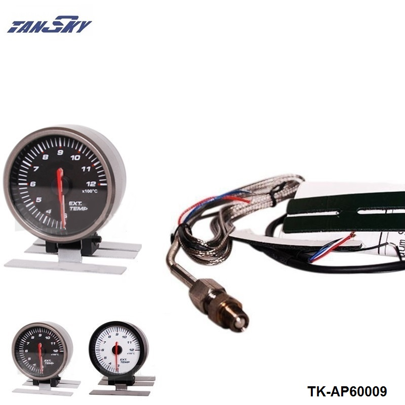 TANSKY - AP 60MM ELECTTRO-LUMINESCENT / EXHAUST GAS TEMP GAUGE / EXHAUST TEMP METER For Ford Mustang GT TK-AP60009