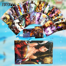 YNYNOO 54 pcs/pack Anime One Piece&LO Heroes &Grim Reaper Game Collection Poker Cards Playing Cards Cosplay Board Game Cards