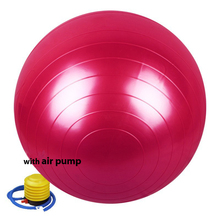 Fitness Yoga Gym Ball 85cm (33'') Smooth Fitness Gym Exercise Ball With Pump Balance Pilates Yoga Balls with Pump
