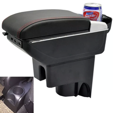 For Nissan LIVINA armrest central Store content Storage box with cup holder ashtray products accessories 3 color 2007-2013