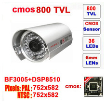 Free shipping  top fasion yes infrared ccd other mini bullet camera 800tvl cctv with ir-cut 36 leds outdoor security z550c