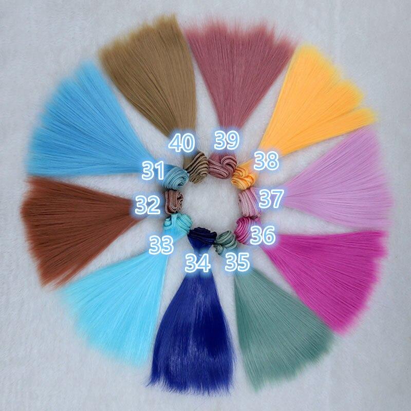 "5/"" 6/"" X 36/""   Ideal for BJD dolls Mohair Weft  Aqua Blue"