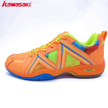 2017 Original Kawasaki K-135 Series Rubber Badminton Shoes For Men And Women Sports Shoes Breathable