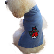 pet clothes christmas sweater coat winter dog jaket winter warm products for dogs vetements(China)