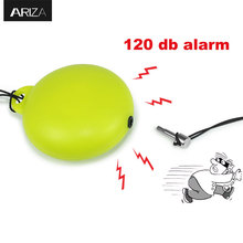Ariza self defense personal protection alarm keychain for women/girls/children/elderly(China)
