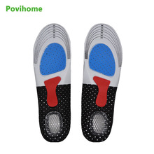 Buy 1Pair Insole shoes foot care pads foot pain relieve comfortable shoe insoles men Sport Running Gel Insole C532 for $2.94 in AliExpress store