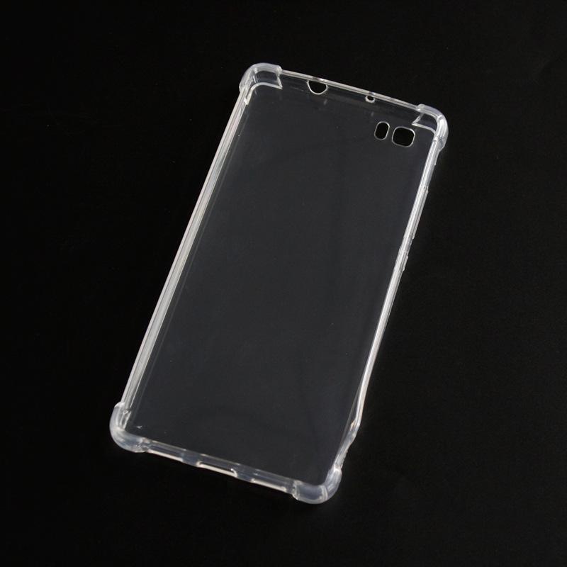 Transparent silicone case huawei P8 Lite 2017 honor 8 lite (8)