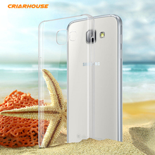Bags For SAMSUNG GALAXY A3 A5 A7 2017 A520 A320 2016 A510 2015 A500 Crystal Transparent Hard Plastic PC Clean Phone Case Cover