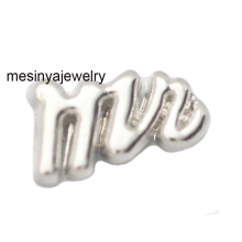 10pcs New Arrive Mr floating charms for glass locket Min amount $15 per order mixed items, FC-1017(China)