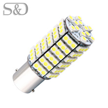 1156 BA15S 120 SMD White LED Bulb Lamp p21w R5W led car bulbs Turn Signal Reverse Lights Car Light Source parking 12V