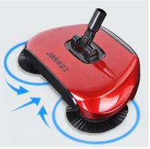 Broom Home Decor Sweeping Broom Robot Vacuum Cleaner 360 Degree Rotating Hand-Push Sweeper Rubber Broom