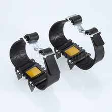 1 Pair Outdoor Camping Hiking Ice Snow Ski Walking Anti Slip Spikes Grippers Grips Shoes Spike Boot Crampons Non-slip