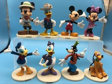 MICKEY Minnie Donald Duck Cartoon Action Figure toy doll Childre's Toy Free shipping(China)