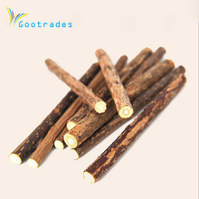 5PCS Cat cleaning teeth Pure natural catnip pet cat molar Toothpaste stick silvervine actinidia fruit Matatabi cat snacks sticks