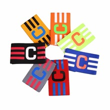 1 Pcs Nylon Football Captain Skipper Armband Hockey Rugby Sports Competition Adjustable Band Adjustable Anti-drop Player Bands