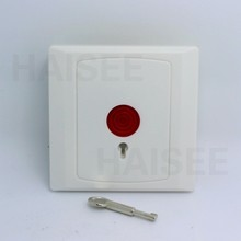 A Lot 10 PCS  NC/NO options panic button plastic switch use for alarm system emergency swtich