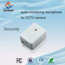 SIZHENG SIZ-105 security cameras accessories cctv microphone audio pick up mic sound monitor head(China)