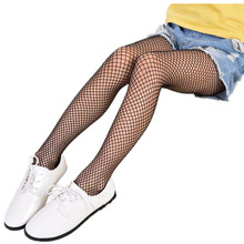 8-15 Years Summer Mesh Kids Girls Tights Hollow out Tights for Baby Children Pantyhose Stocking(China)
