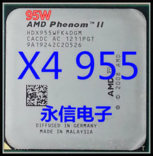 AMD X4 955 x4 955 HDX955WFK4DGM CPU Processor Quad-CORE 3.2Ghz/ 6M /95W / 2000GHz Socket AM3 (working 100% Free Shipping)(China)