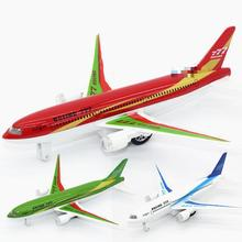Metal Airplane Model Diecast Airbus Dinky Toys For Children Lighted Alloy Toy Bus Kids Toys Plane Brinquedos