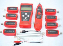 NF-308 Cat5 Cat6 RJ45 UTP STP Line Finder Telephone Wire Tracker Diagnose Tone Tool Kit LAN Network Cable Tester