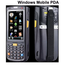Free Shipping WIFI Bluetooth IP65 Rugged Windows Mobile 6.5 Handheld PDA Wireless 1D 2D POS Intelligent Inventory Data Terminal