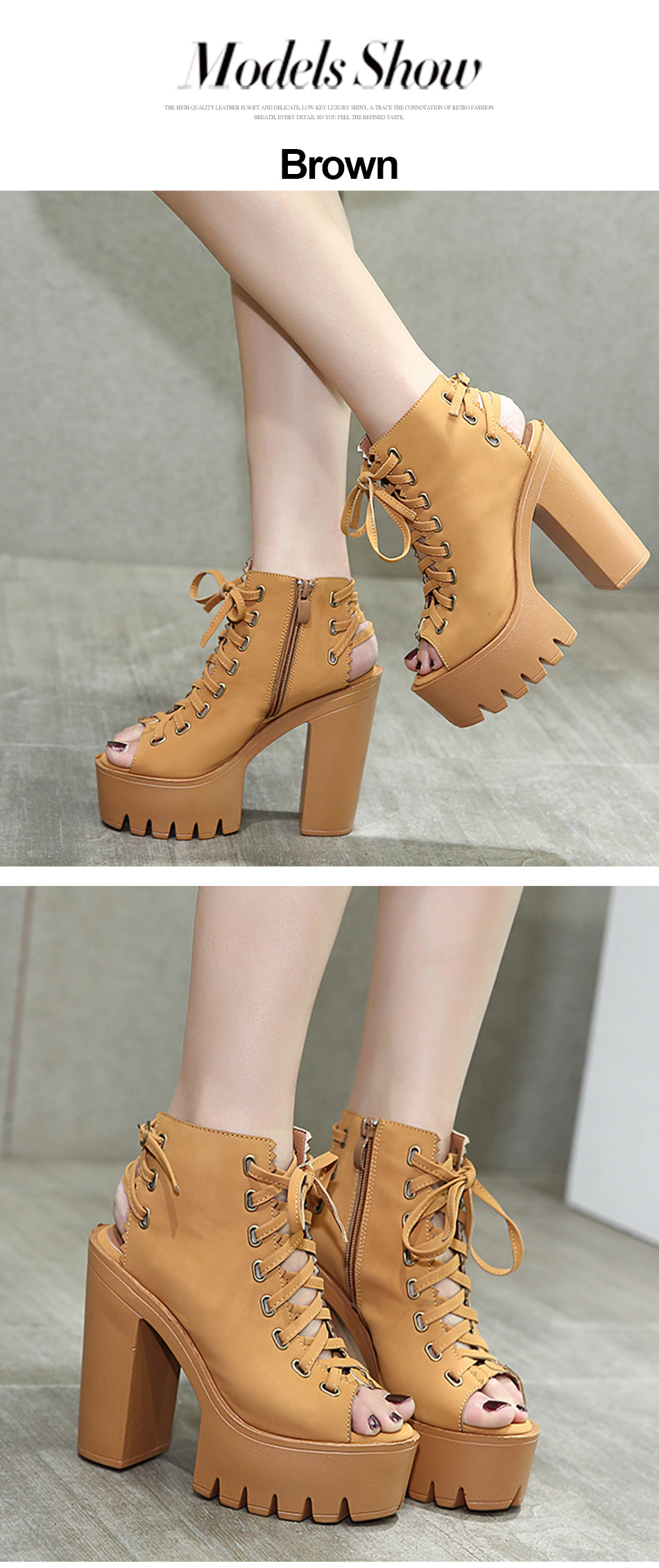 fashion spring shoes