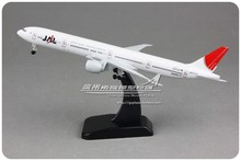 3pcs/lot Brand New 1/400 Scale Airplane Model Toys Japan Airlines Corporation JAL Boeing B777 19cm Diecast Metal Plane Model Toy