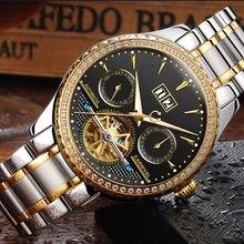 01e4789c4fa Multi-função de hombre relogio Suíça Carnaval Diamante Marca de Luxo Homens  Relógios Esqueleto Homens Relógio Turbilhão C8731-3