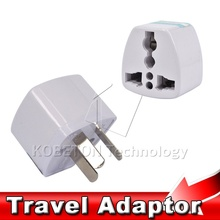 kebidumei New Power Adapter Travel Adaptor 3 pin AU Converter to US/UK/EU Universal AU Plug Charger For Australia New Zealand
