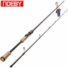 2017 NOEBY Fishing Rods Guide Carbon 1.98m M/ML Spinning Rod Varas De Pesca Para Canne Peche Stand Pole Handel(China)