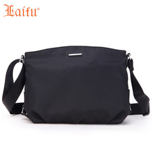 Laifu Fshion Women Crossbody Bag Nylon Shoulder Bag Female Girls Messenger Sling Bag Black(China)