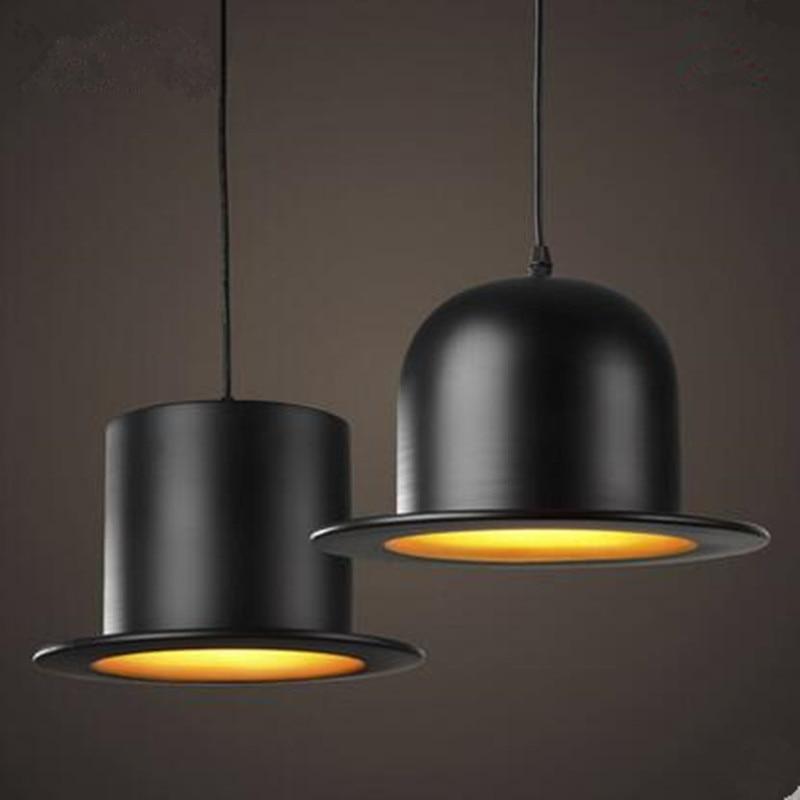 Modern Style indoor lighting  pendant  lights copy aluminum Top Hat   Dome cap  LED restaurant shop bar light fixture<br>