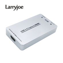 Larryjoe New 1080P 60FPS USB3.0 Capture HDMI Dongle/USB2.0 HDMI Video Capture Card for Xbox PS3 PS4 Windows 7 Linux