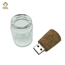 Drifting Bottles USB Flash Drive 4GB 8G 16G 32GB 64GB 128GB Pen Drive Wishing Bottle Pendrive Memory Stick USB Menory Stick Gift