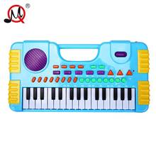 31 Keys Kids Musical Toy For Children Girl Electronic Piano keyboard Children's musical instrument Educational Toy Music Records(China)