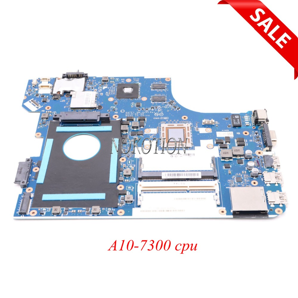 NOKOTION 04X5633 AATE1 NM-A241 laptop motherboard for lenovo Thinkpad E555 Main board A10-7300 CPU full tested