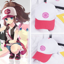 Baseball Cap Hat New Hat Anime Cosplay Go Pocket Monster Ketchum Trainer(China)
