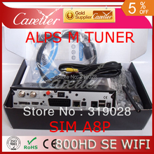 Christmas best gift decoder Last D6 version 800 HD SE satellite TV receiver 300M wifi sim a8p ALPS 801A M tuner 800se 1