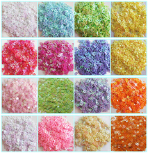 New Hot 20g 3mm Hollow star/Love Heart shape PVC loose Sequins Paillettes Nail Art manicure/sewing/wedding decoration confetti(China)