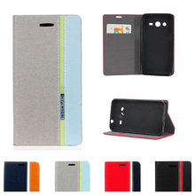 Case for Samsung Galaxy Core Plus G350 SM-G350 Flip Phone Leather Cover for Samsung Star Advance G350E SM-G350E Star 2 Plus