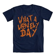 "Printed Summer Style Tees Male Harajuku Top Fitness Brand Clothing Mad Max ""what A Lovely Day"" Men's T-shirt"