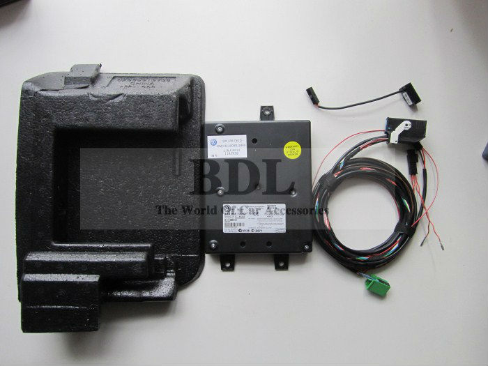 OEM 9W2 Bluetooth Module+Harness With Microphone For VW Golf MK6 VI Jetta MK5 V Passat B6 1K8 035 730 D<br><br>Aliexpress