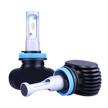 Buy 2Pcs H4 LED H7 H11 H1 H3 9005 9006 Auto Car Headlight 80W 8000LM High Low Beam Light Automobiles Lamp white 6500K Bulb for $14.49 in AliExpress store