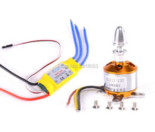 A2212 1000KV Brushless Motor 13T + 30A Speed Controller ESC for DIY RC Aircraft Quadcopter Hexacopter Multirotor(China)