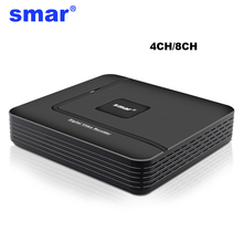 CCTV Mini HD NVR 4CH Video Recorder Onvif 8 Channel H.264 Network DVR 720P 1080P IP Camera Security System P2P Best Price - Smar Store store