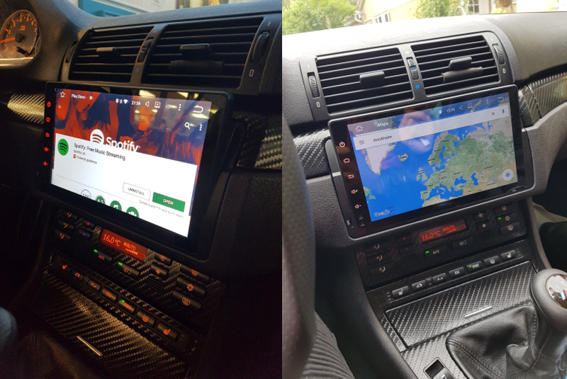 bmw android 9inch car video gps